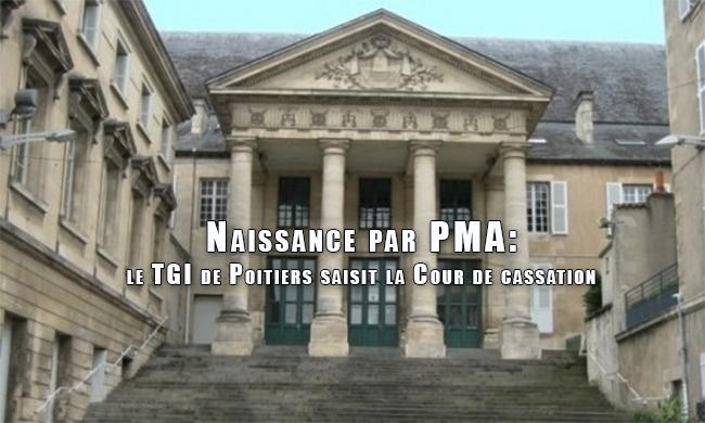 Le TGI de Poitiers saisit la Cour de cassation d'un cas d'adoption d'un enfant né par PMA