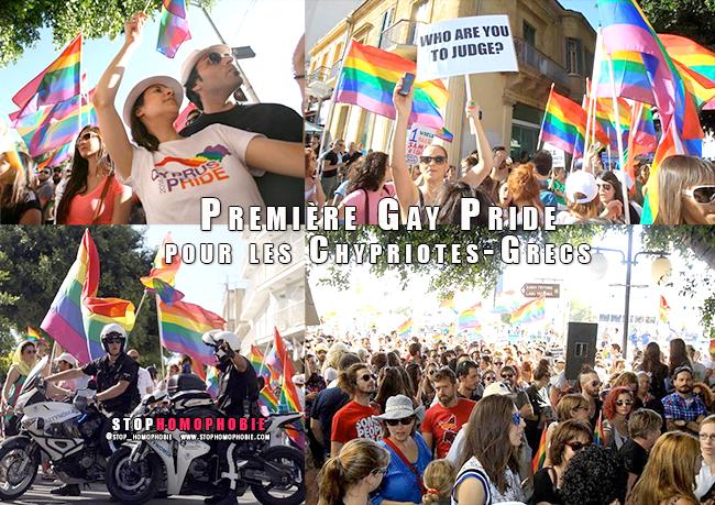 Nicosie - Première Gay Pride pour les Chypriotes-Grecs