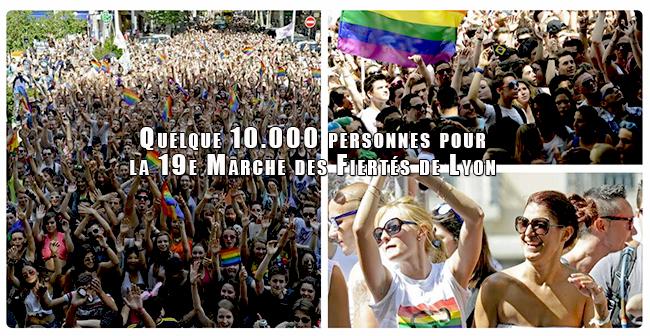 Quelque 10.000 personnes pour la 19e Marche des Fiertés de Lyon appelant à respecter «le droit à disposer de son corps»