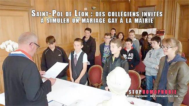 Bretagne Finistère Saint-Pol-de-Léon. Le faux mariage qui déchaîne les foudres
