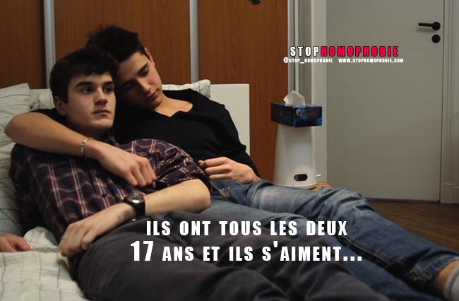 """Vidéo. """"Faut pas penser"""" : Ils ont tous les deux 17 ans et ils s'aiment !"""
