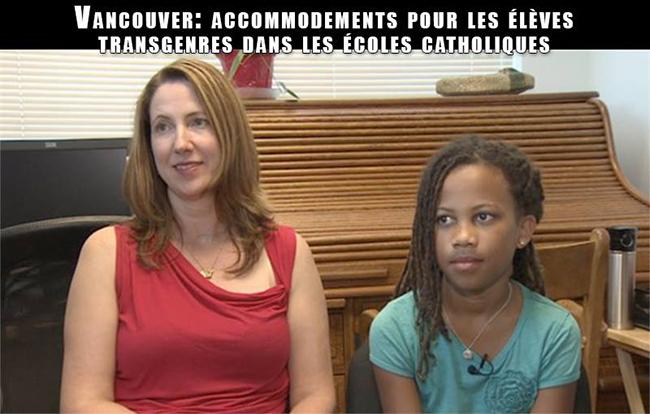 Canada : Les transgenres reconnus par les écoles catholiques du Grand Vancouver