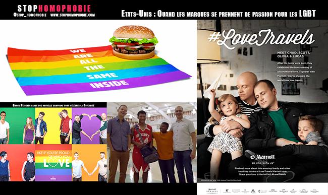 Etats-Unis : Quand les marques se prennent de passion pour les LGBT :)