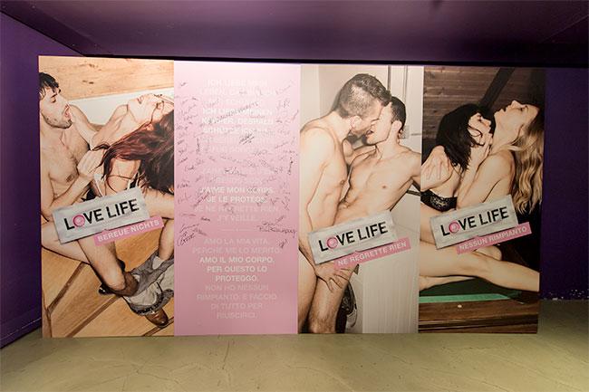 Prévention contre le sida : La campagne LOVE LIFE 2014 fait scandale en Suisse
