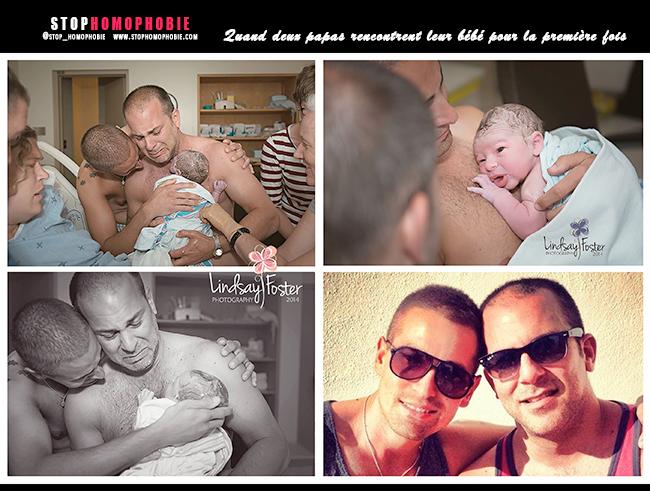 #Emotion dans l'Ontario (CANADA) : Quand deux papas rencontrent leur bébé pour la première fois :)