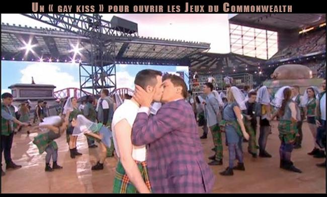 Fiertés : Un « gay kiss » pour ouvrir les Jeux du #Commonwealth