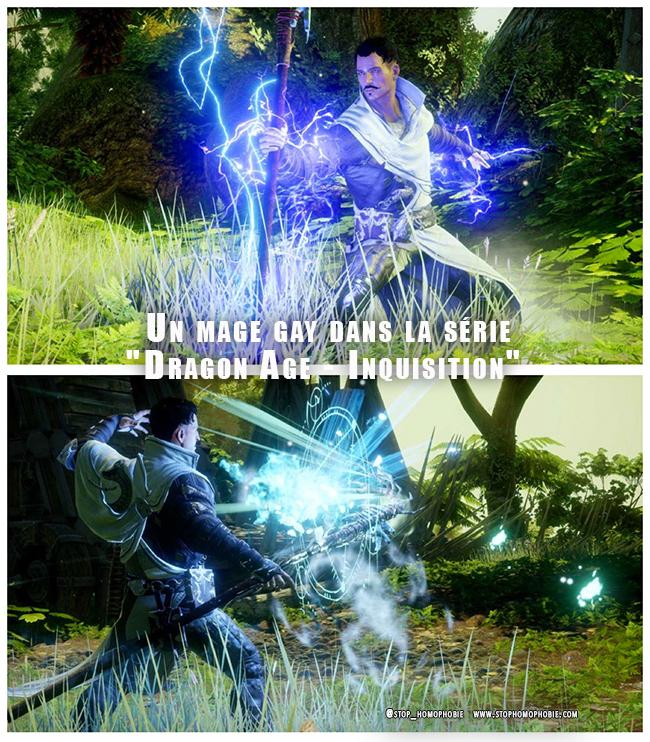 """Video Games #PS4 : Un nouveau personnage gay dans la série """"Dragon Age - Inquisition"""""""