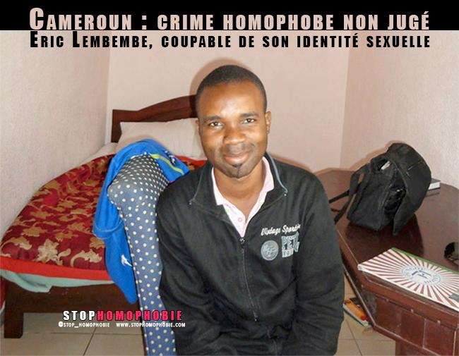 Crime homophobe non jugé : Eric Lembembe, coupable de son identité sexuelle