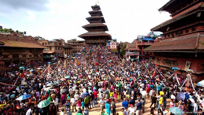 """Photos. Himalaya Pride : Cinquième édition du festival de la fierté """"Gaijatra"""" au Népal"""
