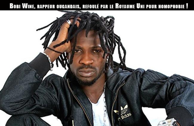 Bobi Wine, rappeur ougandais, refoulé par le Royaume Uni pour homophobie