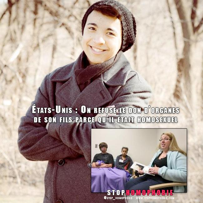 États-Unis : On refuse le don d'organes de son fils parce qu'il était homosexuel