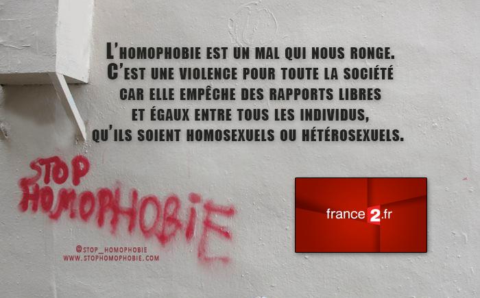 """Télévision """"Infrarouge"""" : L'homophobie est un mal qui nous ronge"""