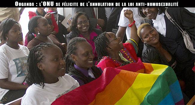 Ouganda : l'ONU se félicite de l'annulation de la loi anti-homosexualité