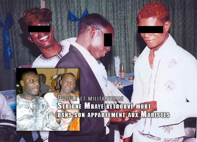 Mariage gay au Sénégal  Serigne Mbaye retrouvé mort dans son appartement  aux Maristes