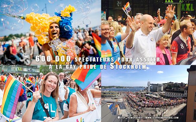 VIDÉO. Suède : 600 000 spectateurs pour assister à la gay pride de Stockholm