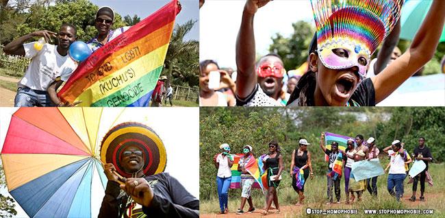 """""""Uganda Pride"""" : Une première """"célébration des Fiertés"""" sur invitation, organisée sur les bords du lac Victoria"""