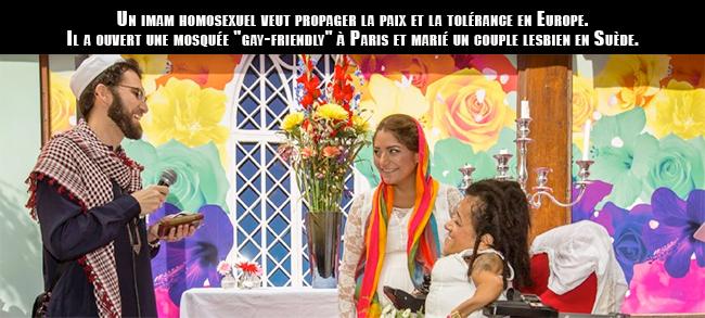 Un imam homosexuel veut propager la paix et la tolérance en Europe mais...