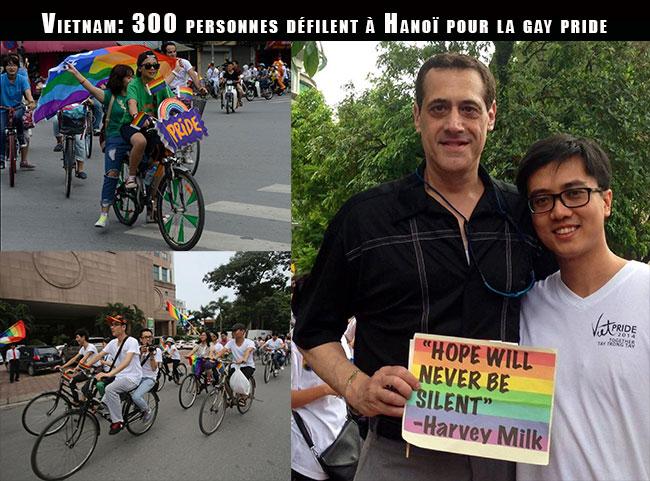 """Fiertés LGBT : Quelque 300 personnes à Hanoï à l'occasion de la troisième édition de la """"Viet Pride"""""""