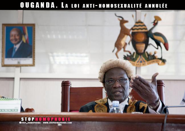 La Cour constitutionnelle de l'Ouganda invalide la loi anti-homosexualité