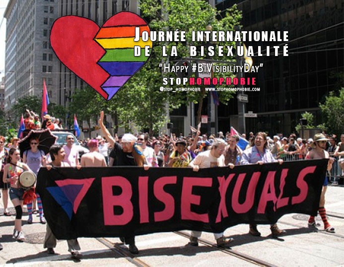 "23 septembre : Journée internationale de la bisexualité ""Happy #BiVisibilityDay"""