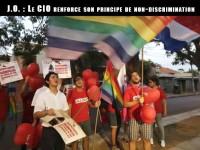 Charte olympique : Une nouvelle clause pour prohiber toute forme de discrimination