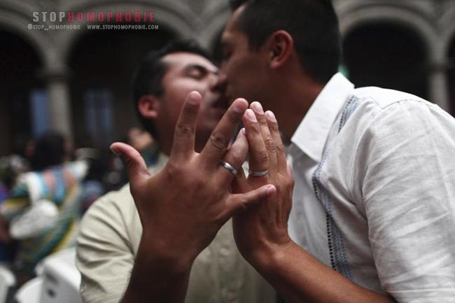 Le mariage entre conjoints de même sexe désormais légal dans l'état de Coahuila au Mexique