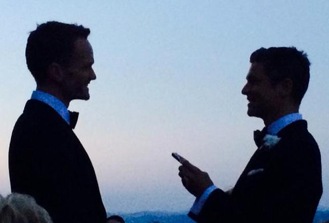 Hey ! Devinez quoi ? Neil Patrick Harris et David Burtka se sont mariés le week-end dernier