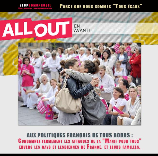 """Pétition solidaire avec @allout @allout_fr """"Ensemble nous pouvons contrer les #anti"""""""