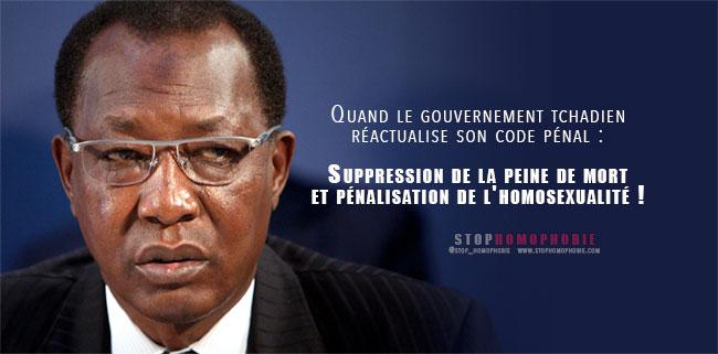 Tchad : un nouveau code pénal plus explicite pour pénaliser davantage l'homosexualité
