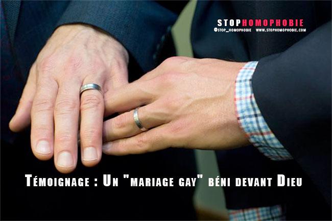 "Témoignage : Un ""mariage gay"" béni devant Dieu :)"