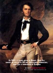 en-1841,-le-grand-sultan-de-Brunei,-Omar-Ali,-choisit-un-anglais-de-38-ans,-ouvertement-homosexuel,-pour-être-le-gouverneur-de-Sarawak,-l'un-des-deux-États-de-Malaisie-orientale-situés-sur-l'île-de-Bornéo---homophobie