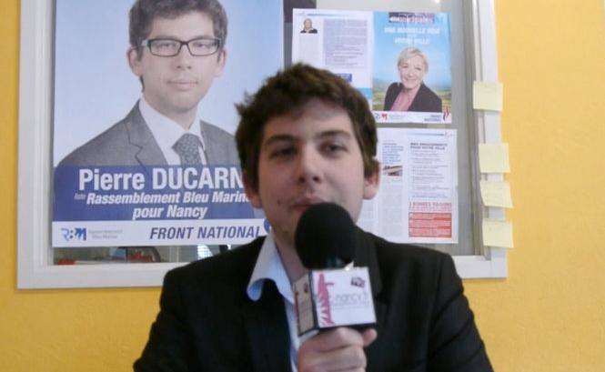 Le FN renonce à sanctionner Pierre Ducarne, militant accusé de soutenir une association homosexuelle