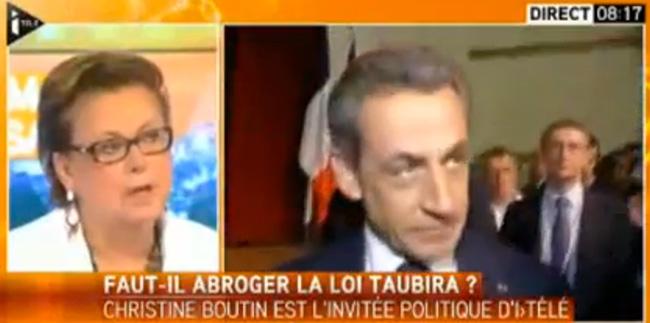 """Vidéo. Orgueil et coup de pression : Boutin demande à Sarkozy de trancher """"Je veux abroger la loi Taubira"""""""