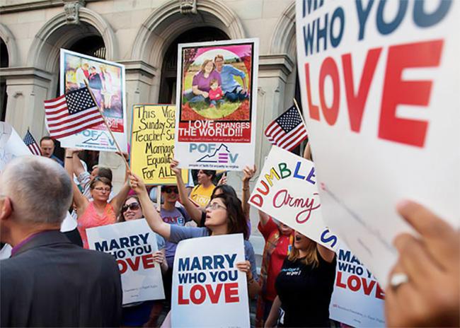 Etats-Unis : Le mariage entre personnes de même sexe ne mobilise plus que le noyau conservateur