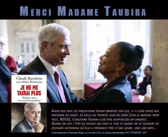 Mariage pour tous : Le jour où Christiane Taubira a été hospitalisée !