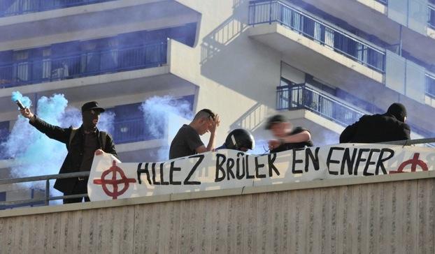 Justice : l'affaire de la banderole homophobe déployée à #Nancy renvoyée au 30 janvier prochain...