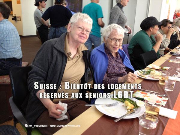 Suisse : Bientôt des logements réservés aux seniors #LGBT ?