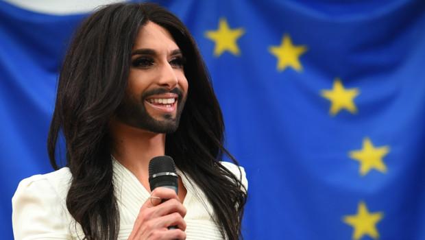 Vidéo. Conchita Wurst au Parlement européen pour le respect des différences