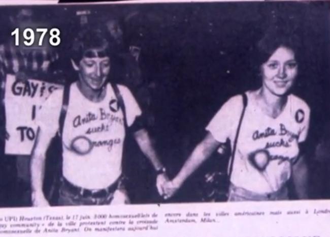 Retour sur images : L'évolution des droits des homosexuels dans notre société…