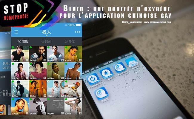 Blued : une bouffée d'oxygène pour l'application chinoise gay