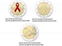 La Monnaie de Paris s'engage auprès de Sidaction avec une pièce commémorative de 2 €
