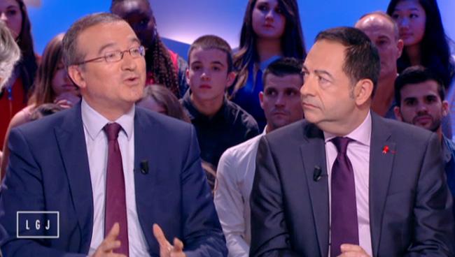 Vidéo. Mariage pour tous : Jean-Luc Romero vs Hervé Mariton sur Le Grand Journal de Canal+