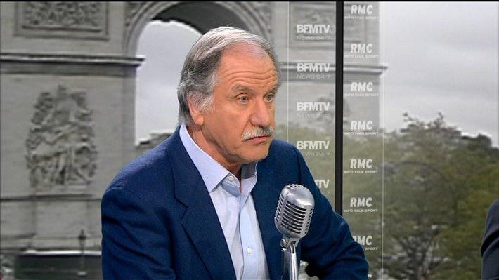 """Sur RMC et BFMTV, Noel Mamère, député écologiste, fustige Nicolas Sarkozy : """"ses méthodes sont des méthodes de voyou"""""""