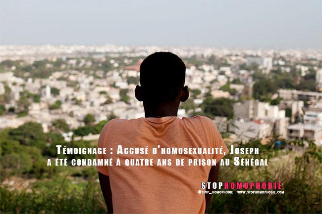 Témoignage : Accusé d'homosexualité, Joseph a été condamné à quatre ans de prison au Sénégal.