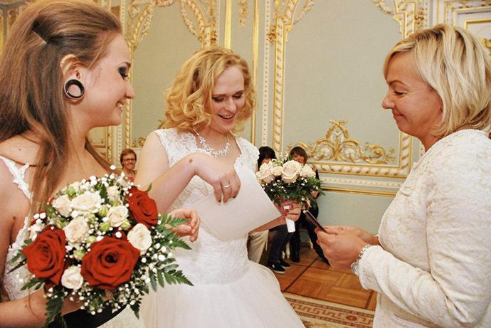 Robe boutique mariées russes