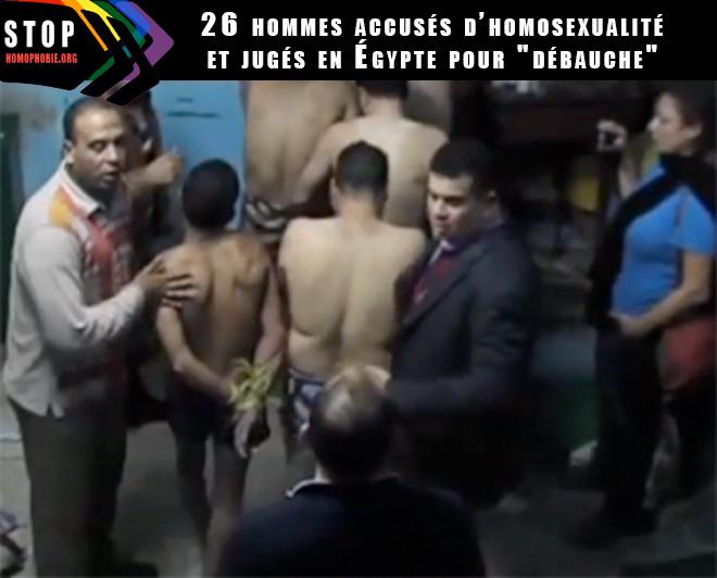 """Rafle orchestrée par Mona Iraqi : 26 hommes accusés d'homosexualité et jugés en Égypte pour """"débauche"""""""