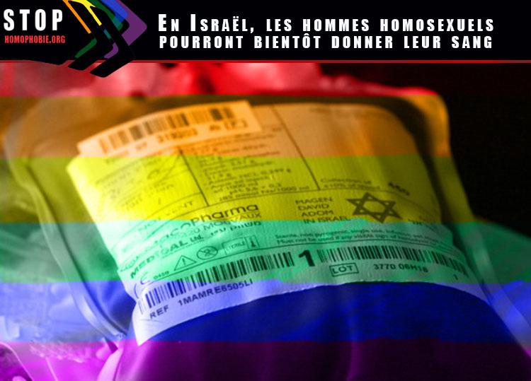Fin de la discrimination ? En Israël, les homosexuels pourront bientôt donner leur sang