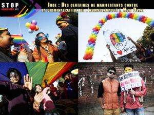 Inde-Des-centaines-de-manifestants-contre-la-criminalisation-de-l'homosexualité-à-New-Delhi-gay-pride