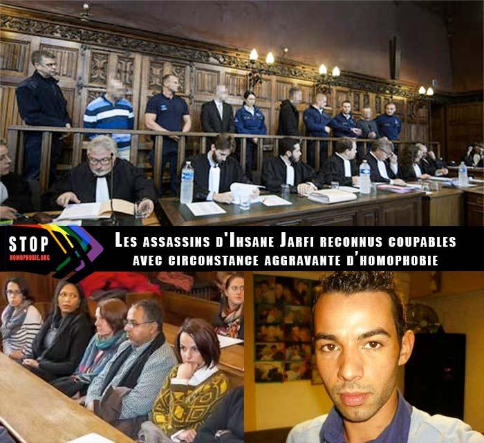 Liège : Les assassins d'Ihsane Jarfi reconnus coupables avec la circonstance aggravante d'homophobie