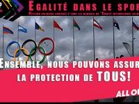 """Egalité dans le sport : Pétition solidaire avec @allout adressée à tous les membres du """"Comité international olympique"""""""
